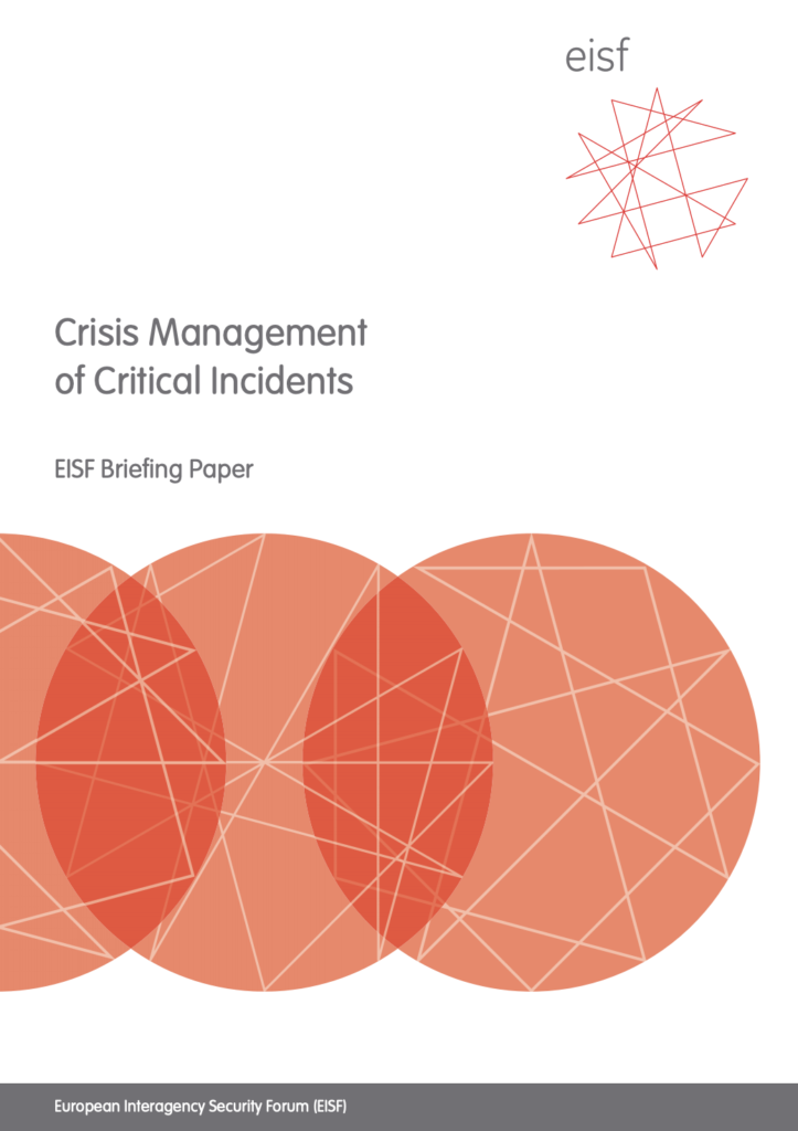 Image for Crisis Management of Critical Incidents