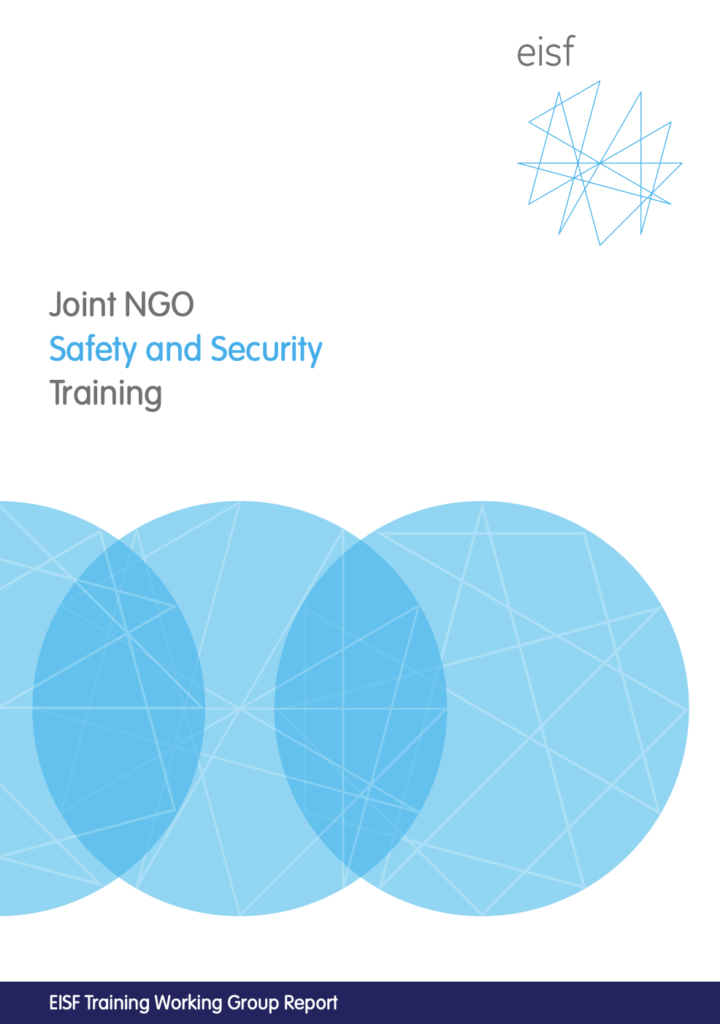 Image for Joint NGO Safety and Security Training