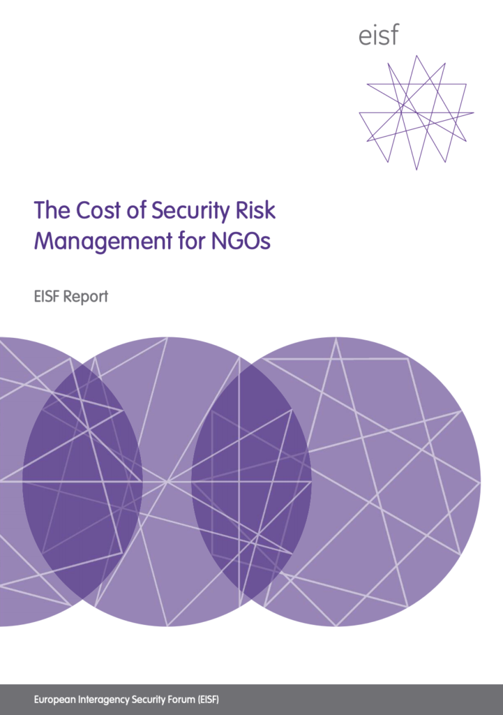 Image for The Cost of Security Risk Management for NGOs