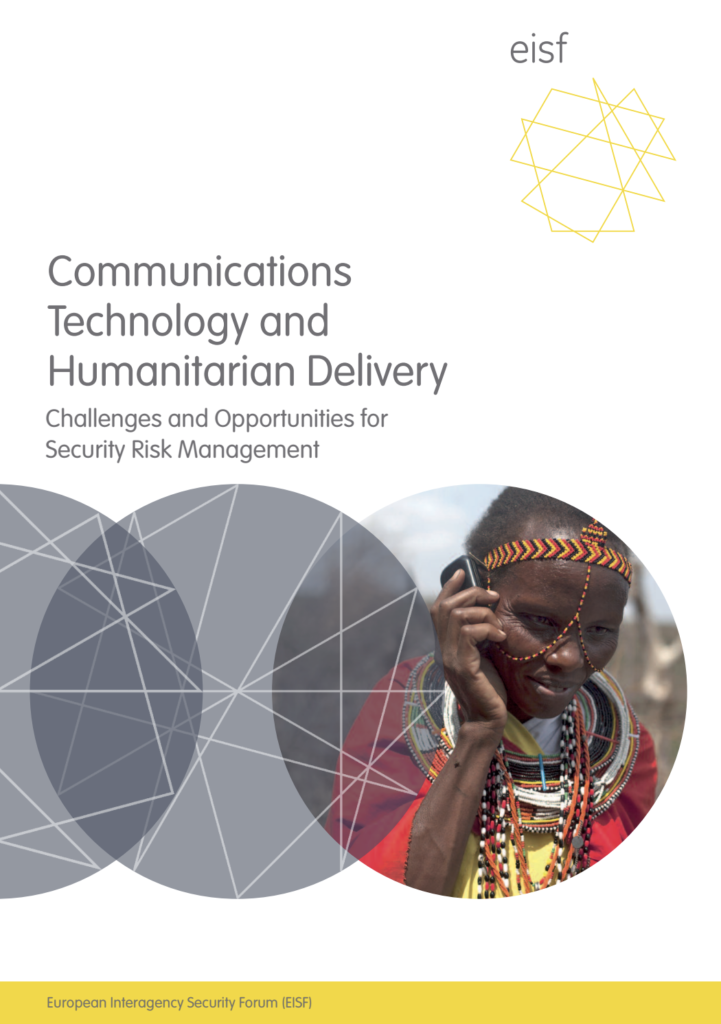 Image for Communications Technology and Humanitarian Delivery: Challenges and opportunities for security risk management