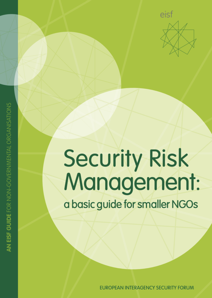 Image for Security Risk Management: a basic guide for smaller NGOs