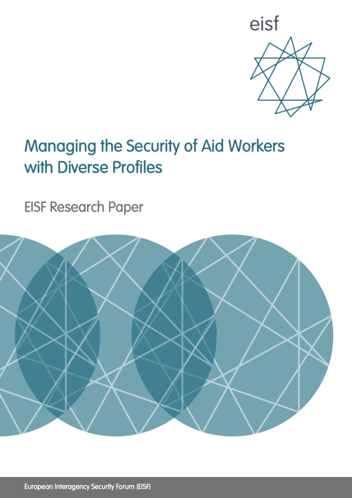 Image for Managing the Security of Aid Workers with Diverse Profiles