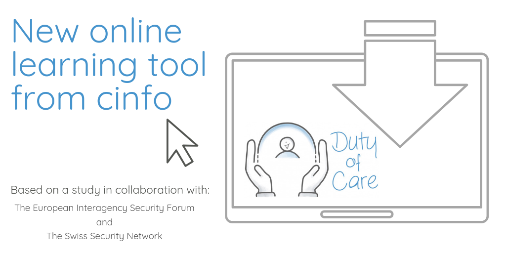 Cinfo launches new Duty of Care learning tool