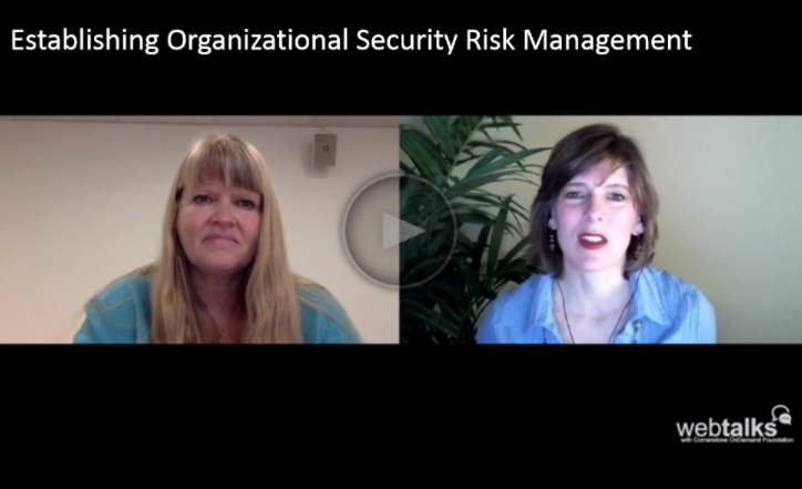 The why and how of good security risk management: GISF and DisasterReady WebTalks