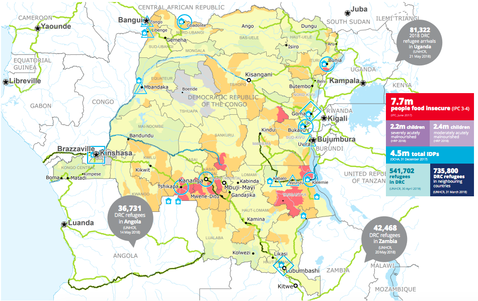Humanitarian access and security challenges in the Democratic Republic of Congo