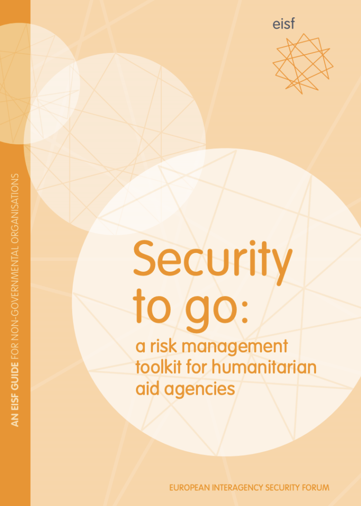 Image for Security to go: a risk management toolkit for humanitarian aid agencies