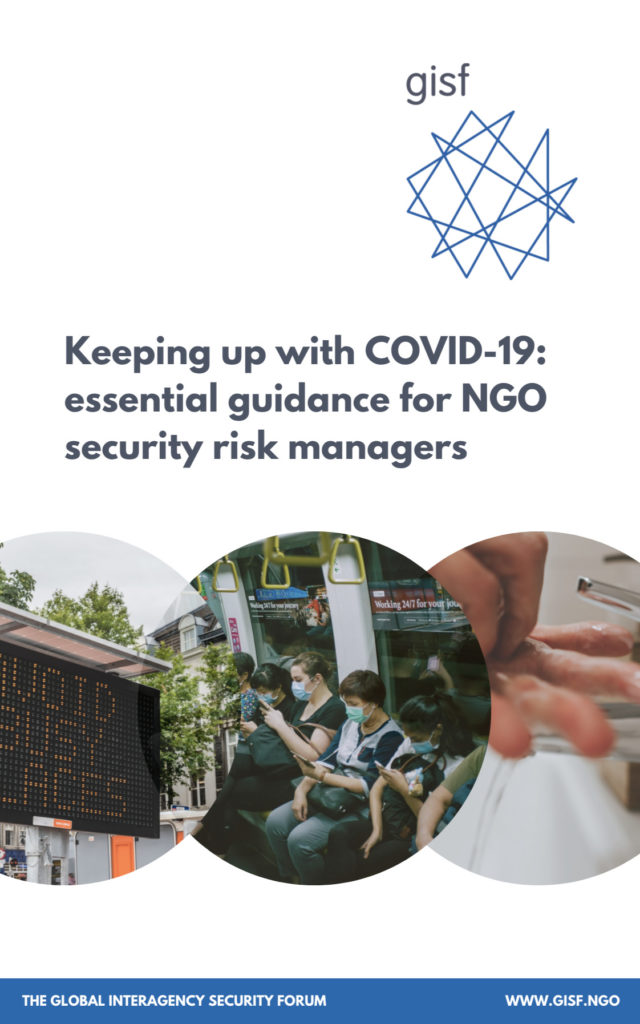 Image for Keeping up with COVID-19: essential guidance for NGO security risk managers