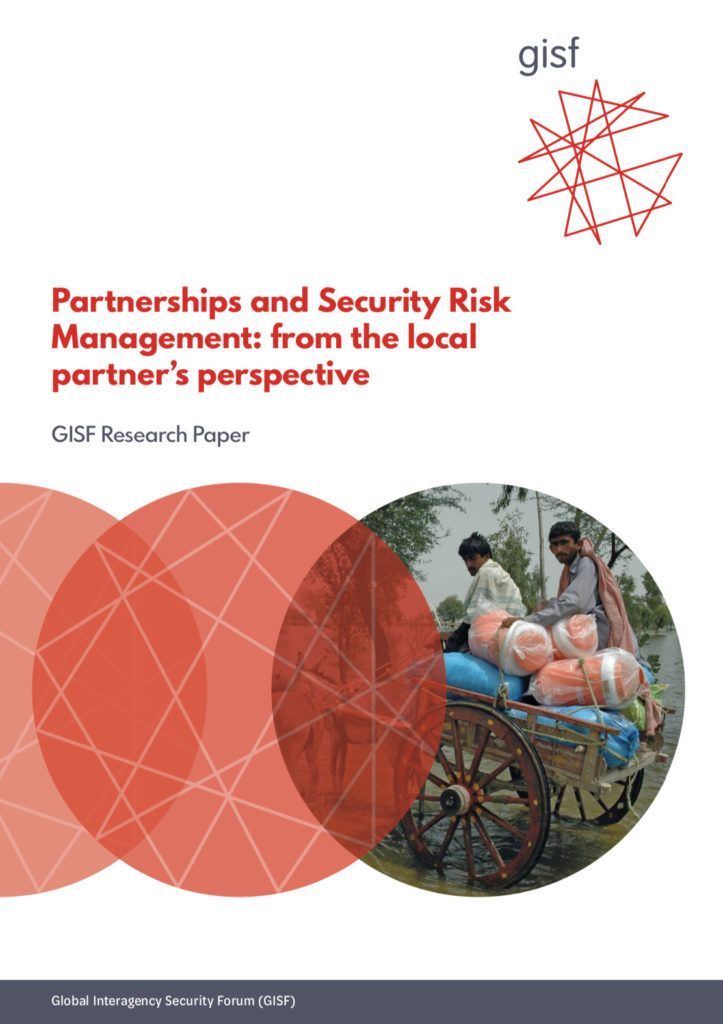 Image for Partnerships and Security Risk Management: from the local partner's perspective