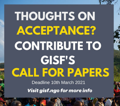 Image for GISF Call for Papers on Acceptance