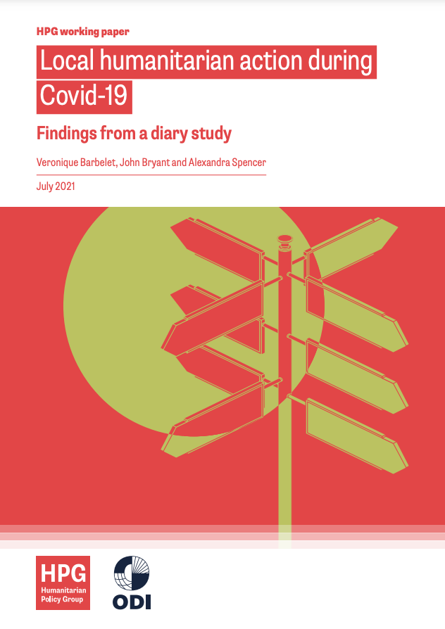 Image for Local humanitarian action during Covid-19: findings from a diary study