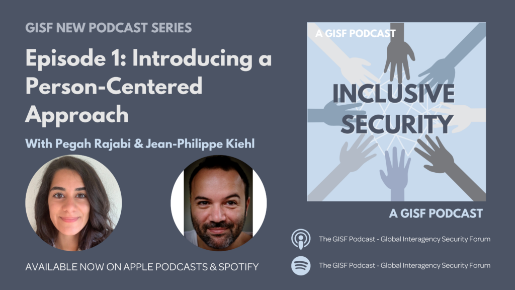 Image for Inclusive Security E1: Introducing a Person-Centered Approach